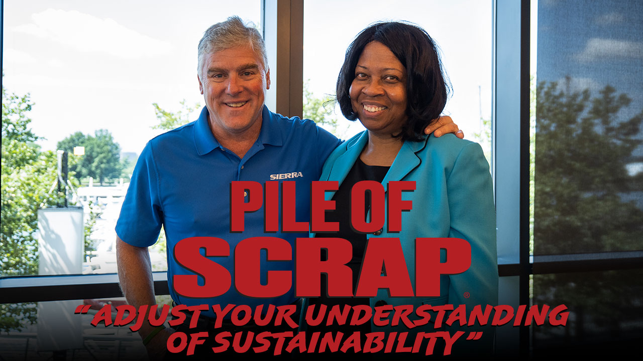 Pile of Scrap Ep. 49: Adjust Your Understanding of Sustainability with Cheryl Coleman
